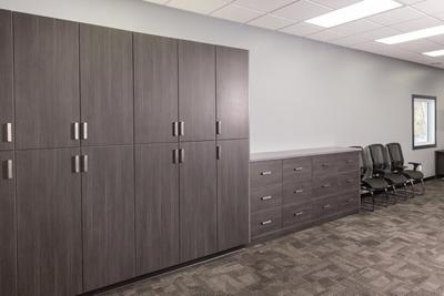 Every casework project we do is custom